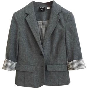 Urban Outfitters BDG Gray Blazer pocket 2 button S